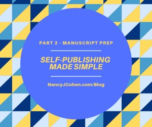 Self Publishing Part 2