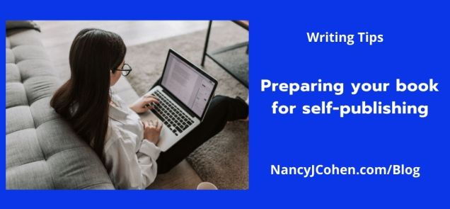 Preparing your book for self-publishing