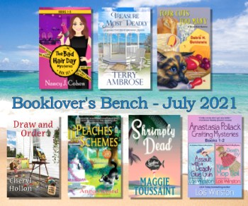 July Booklovers Bench Book Giveaway