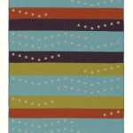handwoven wool rug by Nancy Kennedy
