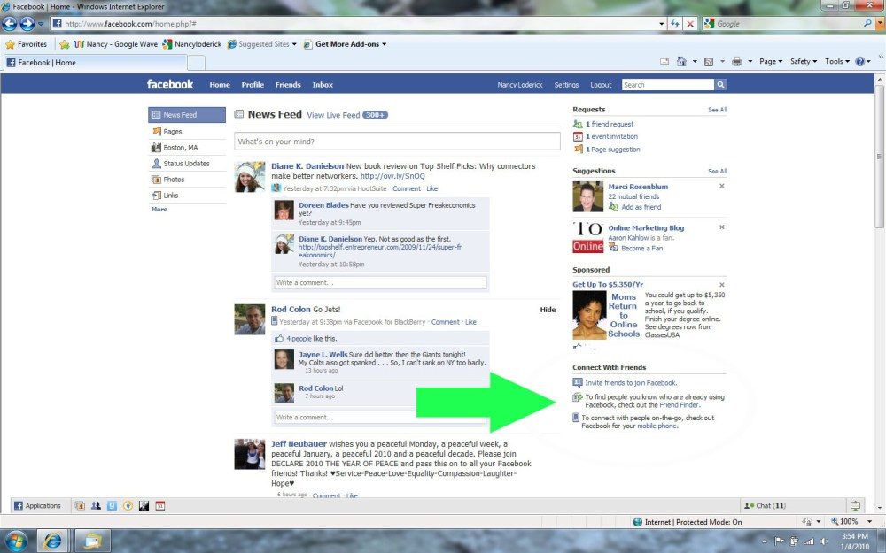 How to choose meaningful Facebook friends (2/4)