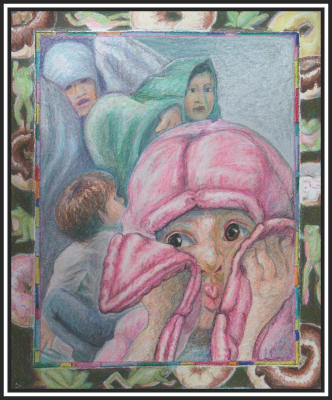 From the children's book Dragon's Tale image Pink Blanket