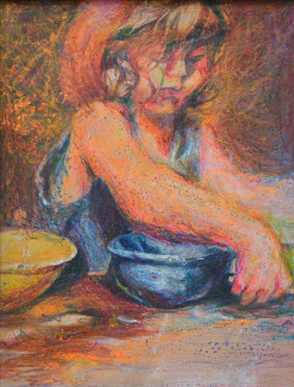 Anna and Mixing Bowls