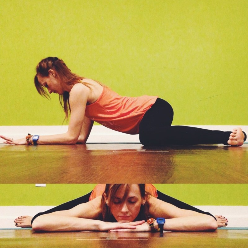 Yin Sequence for Hips - Frog Pose