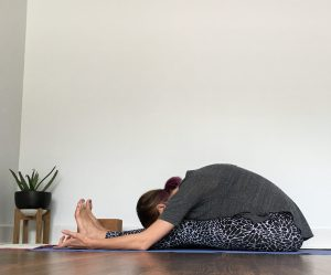 Caterpillar Pose - Forward Fold