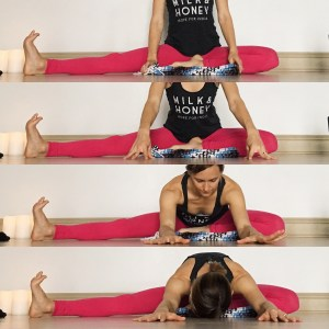 Wide Leg Janu - Yin Yoga