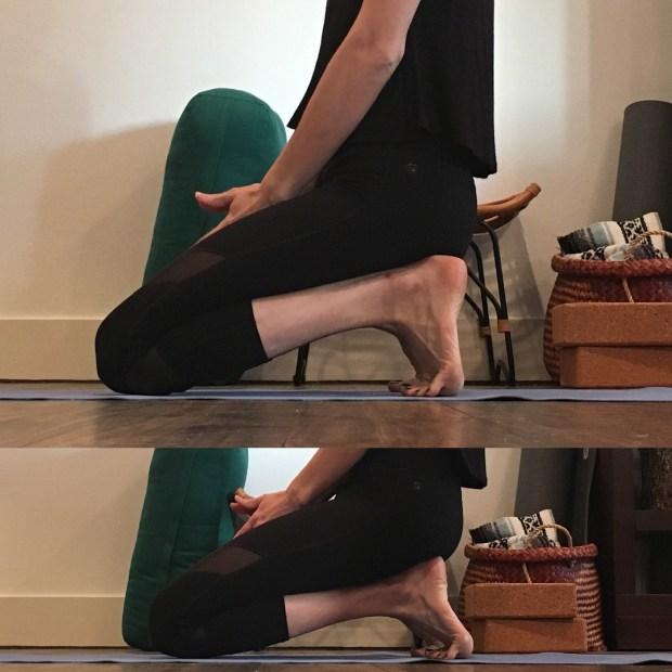 Angle in feet