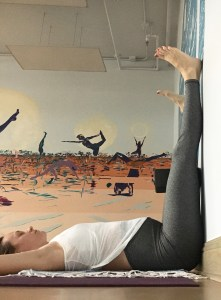 Legs up the Wall - Yin for Urinary Bladder Meridian