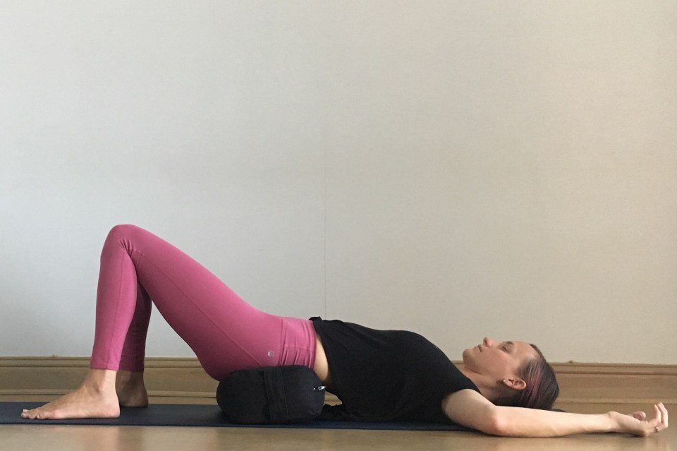 Yin for Hips + Heart - Bridge Pose