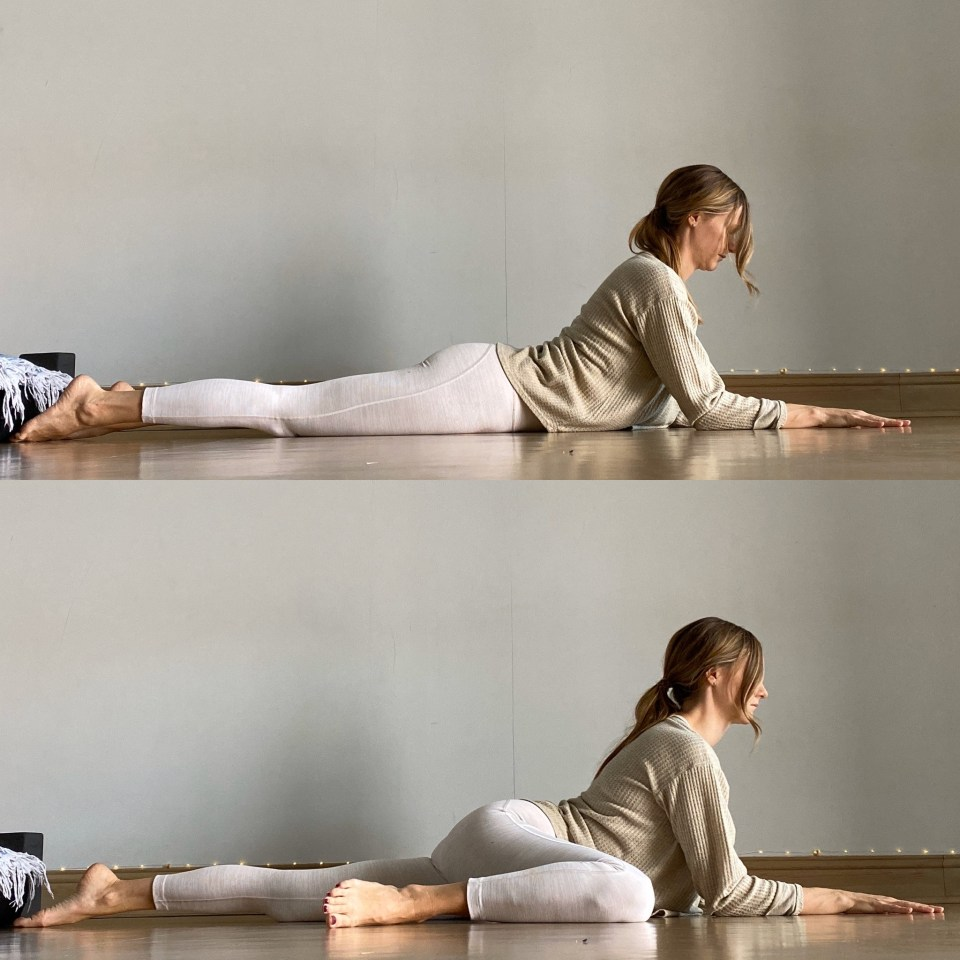 Yin Yoga Sequence  Journey to Frog Pose