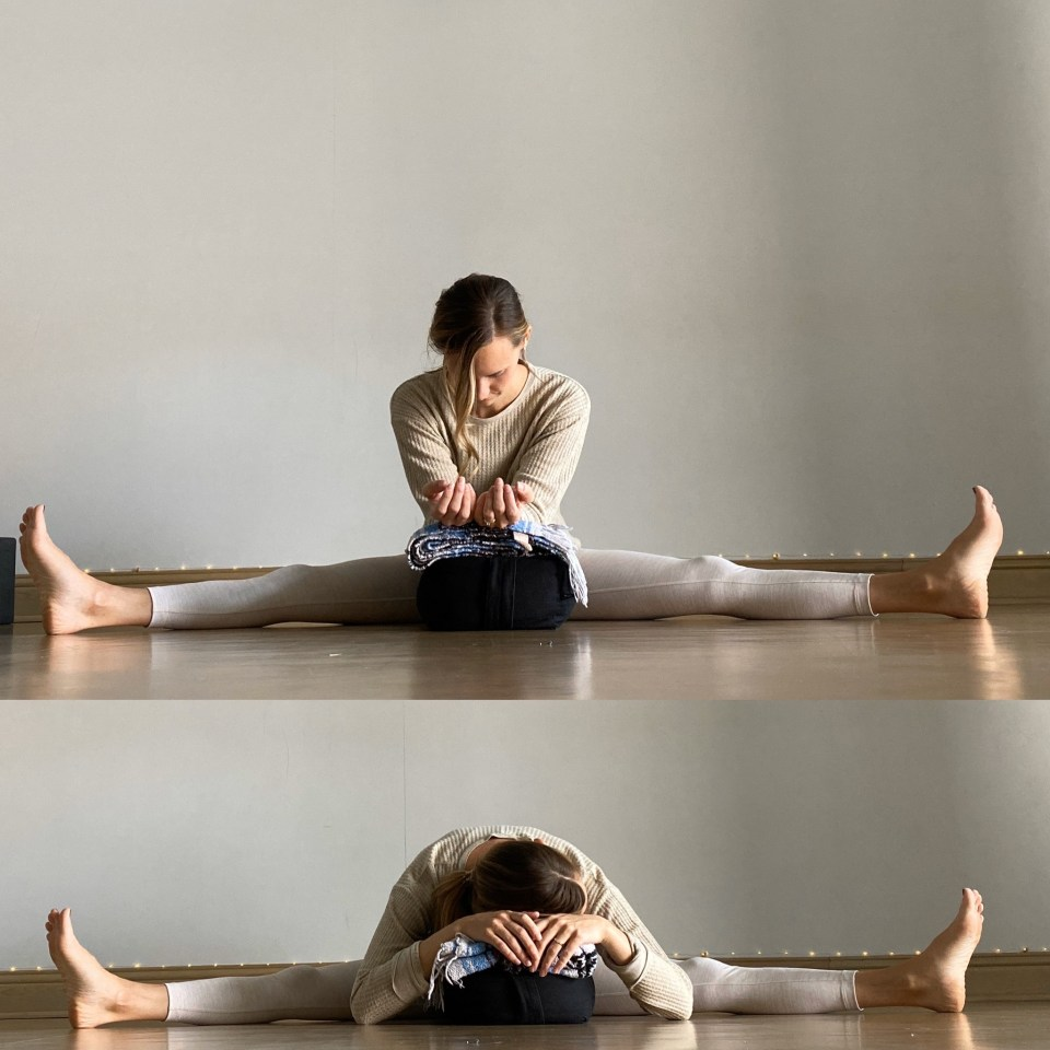 Yin Yoga Sequence - Journey to Frog Pose - Dragonfly