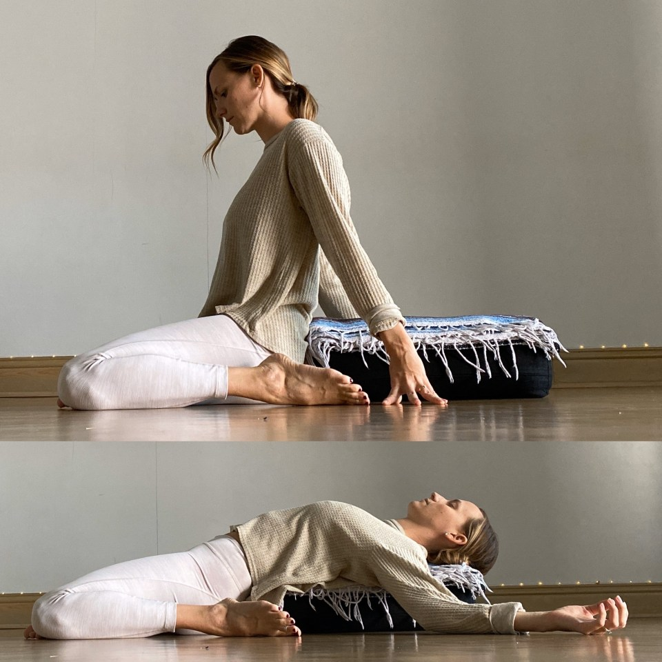Yin Yoga Sequence - Journey to Frog Pose - Reclined Deer
