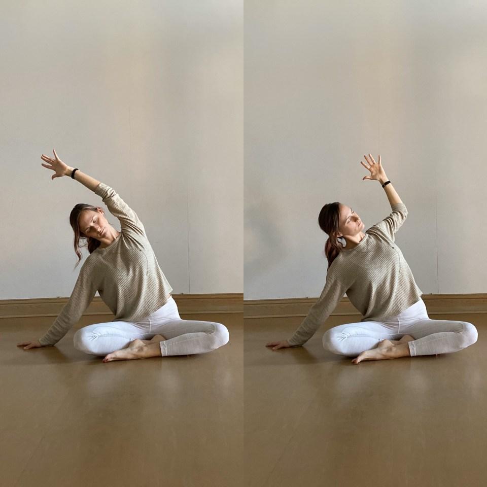 Yin Yoga Sequence: Cactus Arm