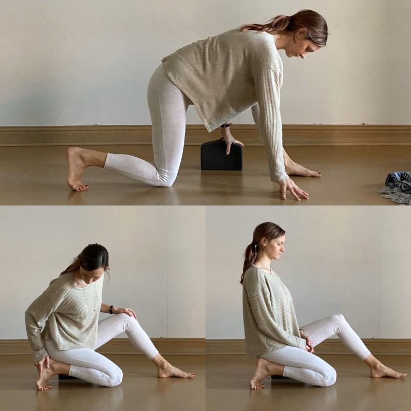 Yin Sequence: Half Toe Stretch