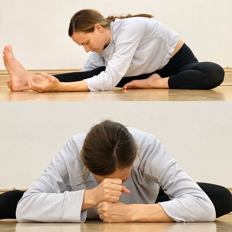 Yin Yoga Sequence | Liver and Gallbladder Meridians | Half Butterfly