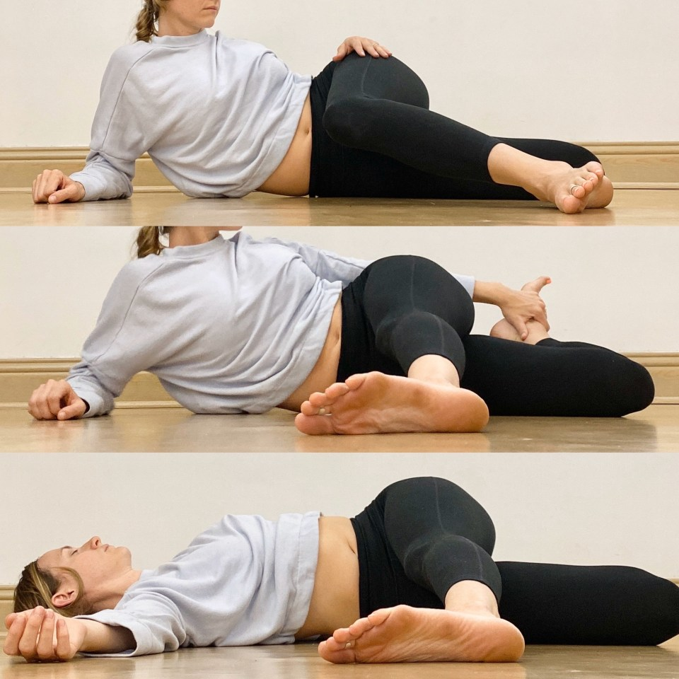 Yin Yoga Sequence | Liver and Gallbladder Meridians | Cat's Tail