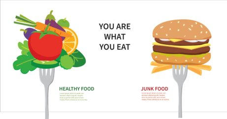 Healthy Food Vs Junk Food - Don't Choose to Die