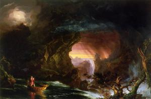 The Voyage of Life, Manhood, by Thomas Cole, 1840.
