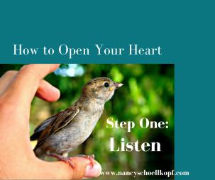 step one_ listen