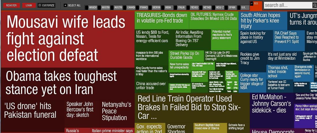 newsmap sample