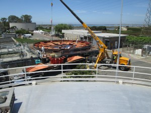 New digester at Sunnyvale's Wastewater treatment plant