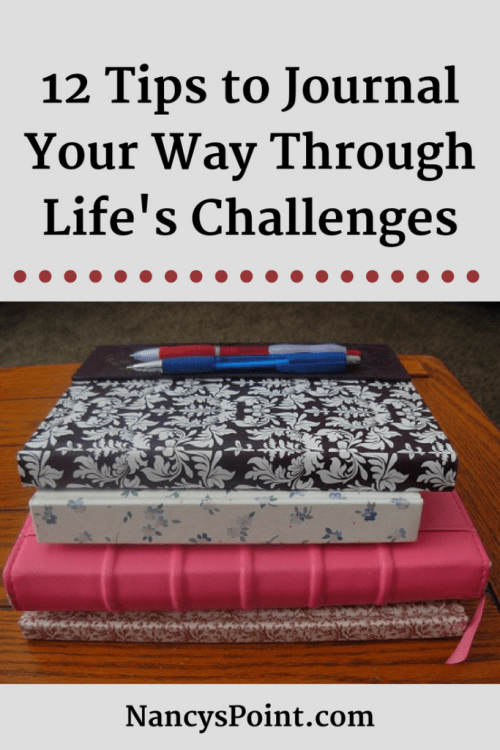 12 Tips to Journal Your Way Through Life's Challenges