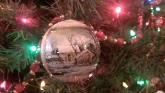 Christmas tree ornaments & the stories they tell