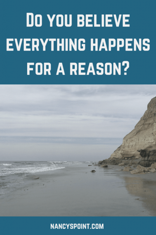 Do you believe everything happens for a reason? #cancer #life #death #breastcancer