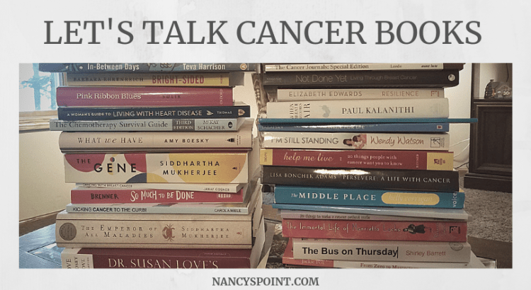 Let's Talk #CancerBooks #breastcancer #cancer #books #bookreviews