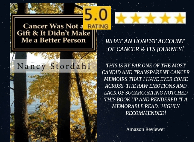 Cancer Was Not a Gift & It Didn't Make Me a Better Person - An Amazon Review! #cancer #breastcancer #books #bookreviews