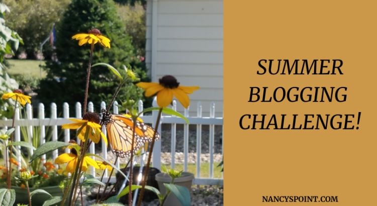 Are you ready for my 2020 #summer #blogging challenge? #bloggers #blog #writing