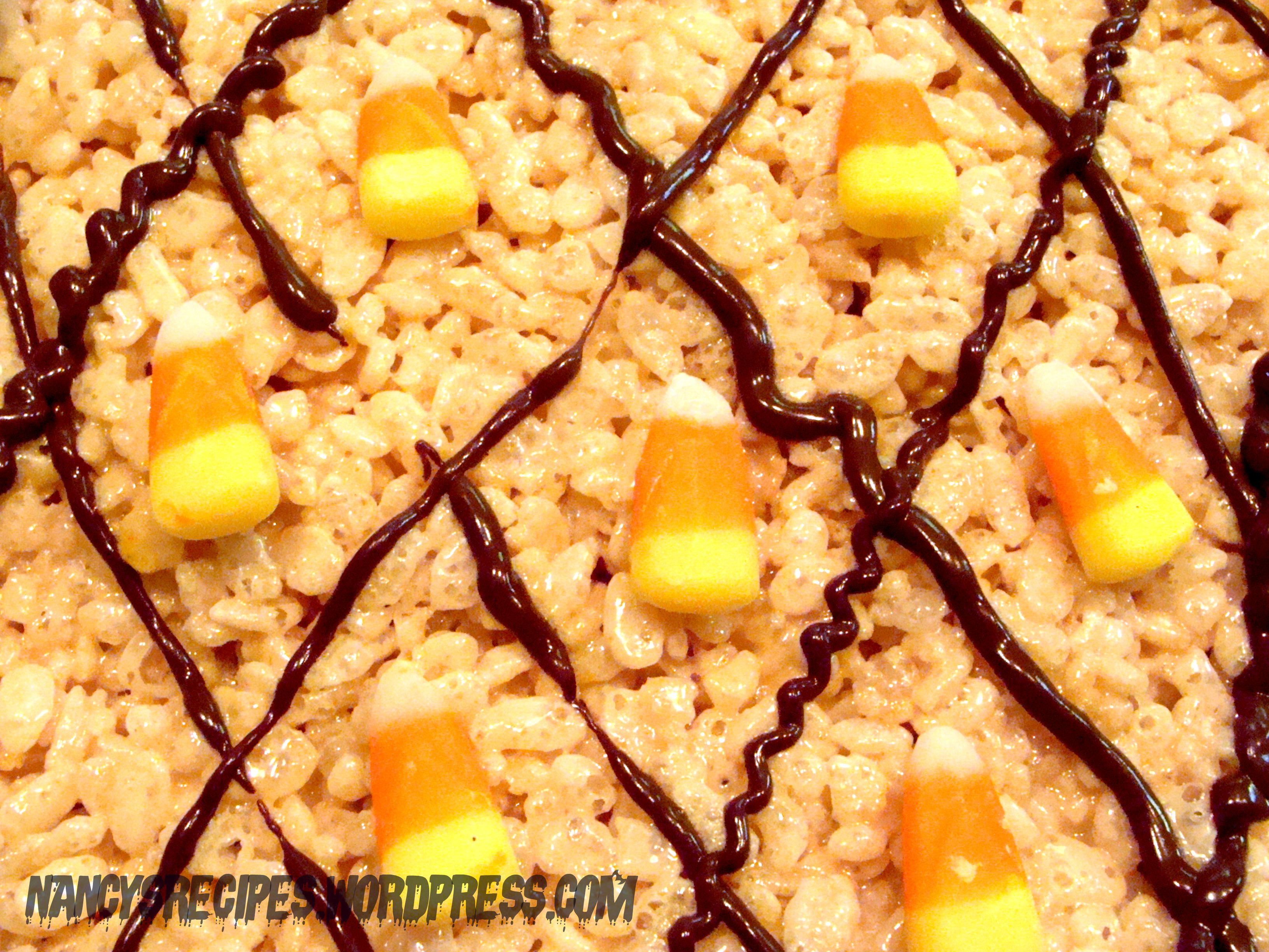 Halloween Rice Krispie Treats