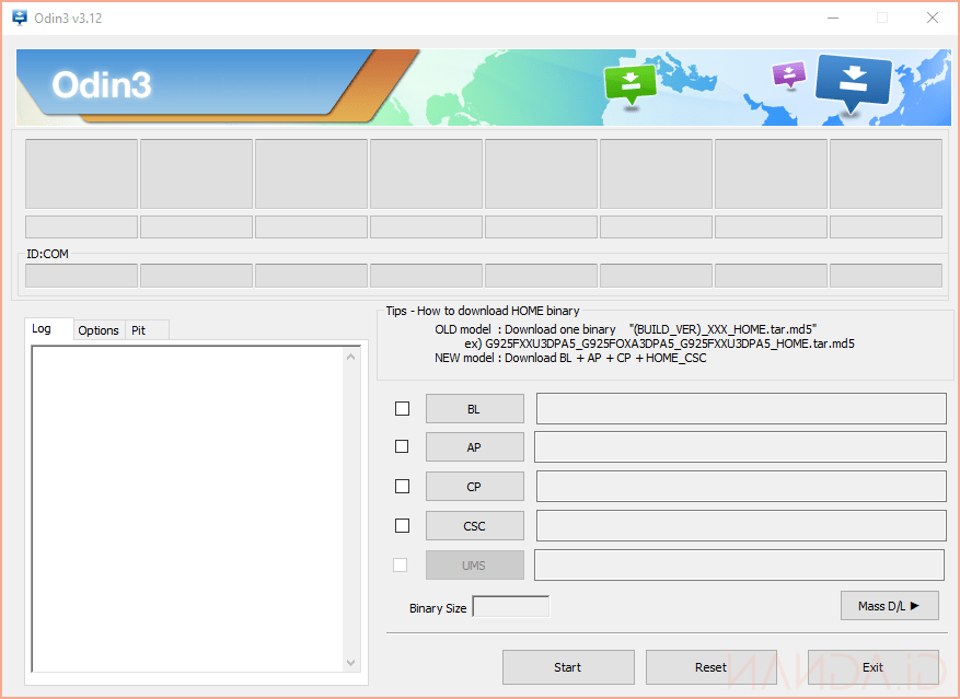 Download Odin3 v3.12.4