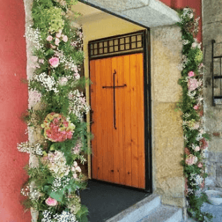 Arreglos floral para entrada