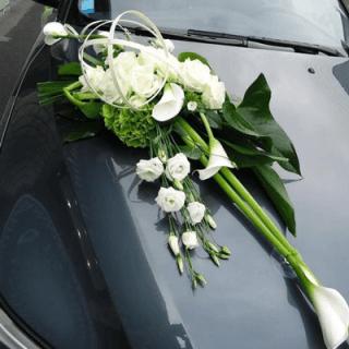 decoracion de carros para novios