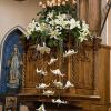 Decoración floral para de iglesia