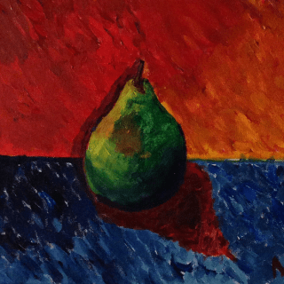 The Impressionistic Pear