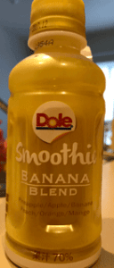 Dole Smoothie BANANA BLEND