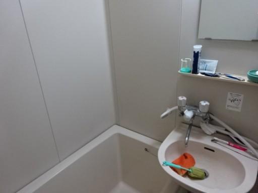 浴室のカビ取り