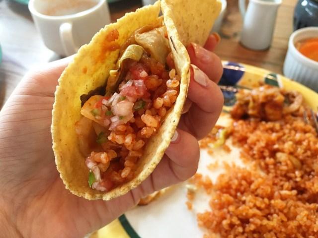lunch taco at la casita daikanyama tokyo