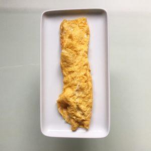 nicely rolled tamagoyaki