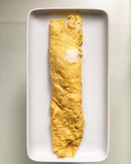 nicely rolled tamagoyaki