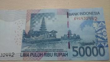 Uang Pecahan Rp. 50.00