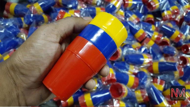 CUPS & BALL (Plastic)