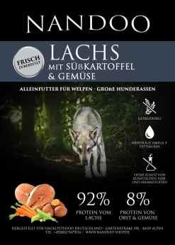 JGF-e1598430080540 Lachs mit Süßkartoffel & Gemüse (große Rassen)