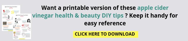 Apple Cider Vinegar Beauty Hacks 7 Effective Uses