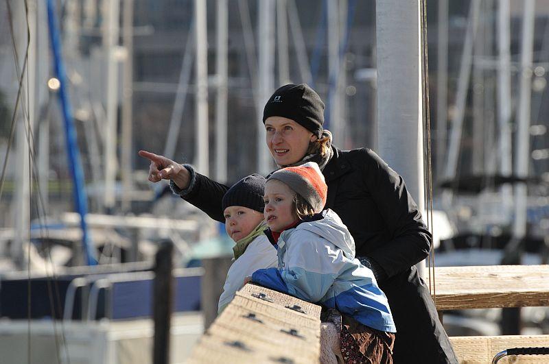 Johanna buukkasi Nanealle laituripaikan San Franciscon ytimestä