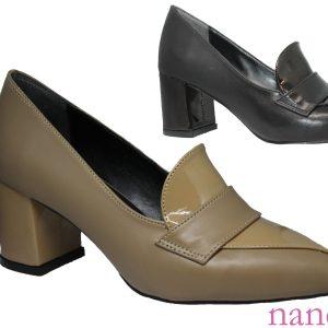 Kısa ve kalın topuklu bayan ayakkabı - small and thick heel women shoes - chaussures femmes petites et épaisses - маленькая и толстая женская обувь