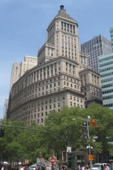 This uniquely-shaped skyscraper, still standing at 26 Broadway in the Financial District of Lower Manhattan, was the headquarters of John D. Rockefeller's Standard Oil of New York.