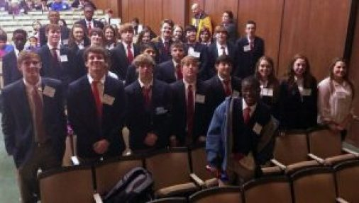 NAHS students participated in Technology Student Association regional competition